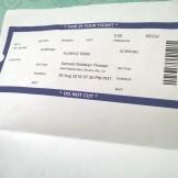 Ticket for Purple Rain Panel