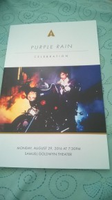 Program for Purple Rain Panel & Screening