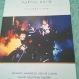 Program for Purple Rain Panel & Screening